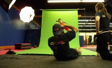 Photo Shoot at the Dojo